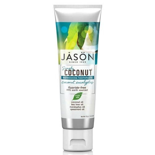 Jasons Natural Organic Coconut Eucalyptus Toothpaste